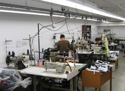 ECO's old-school local clothing factory