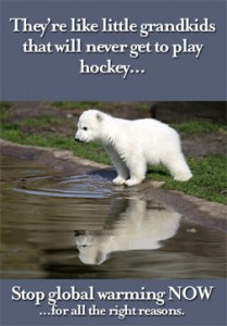 Bear cubs that will never know hockey.