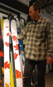 Prior Canadian Made Skis Whistler