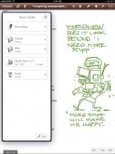 notes plus green sketch app