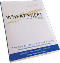Wheat Sheet Tree Free Paper