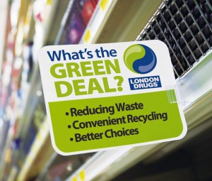 London Drugs What's the Green Deal Campaign
