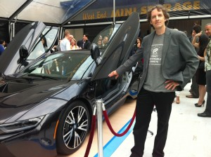 One event featured the new BMW electric i8 - who says green can't be sexy?