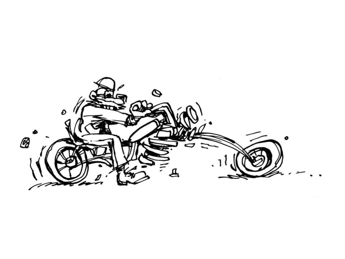 Loud Biker