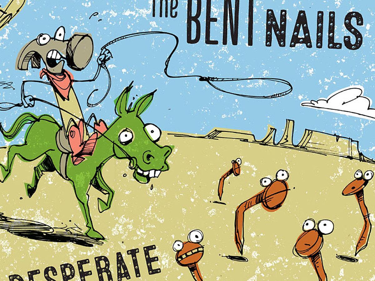 Bent Nails CD Illustration