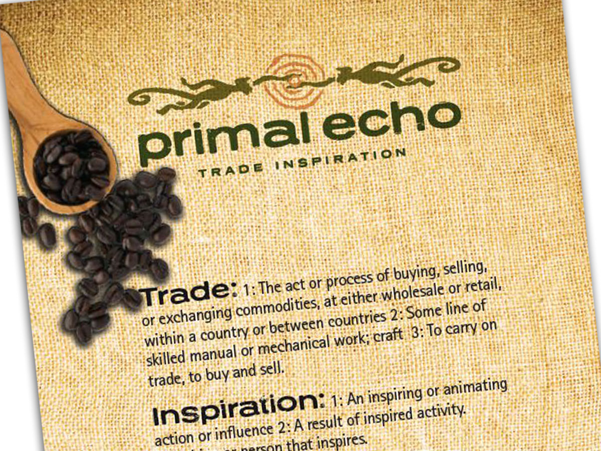 Primal Echo Coffee Brand Design
