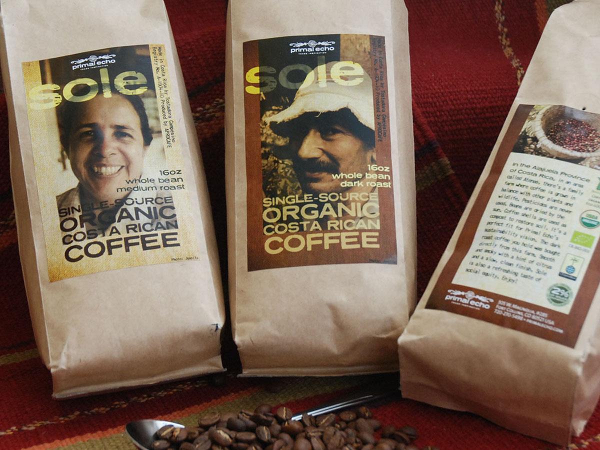 Sole Coffee Packaging