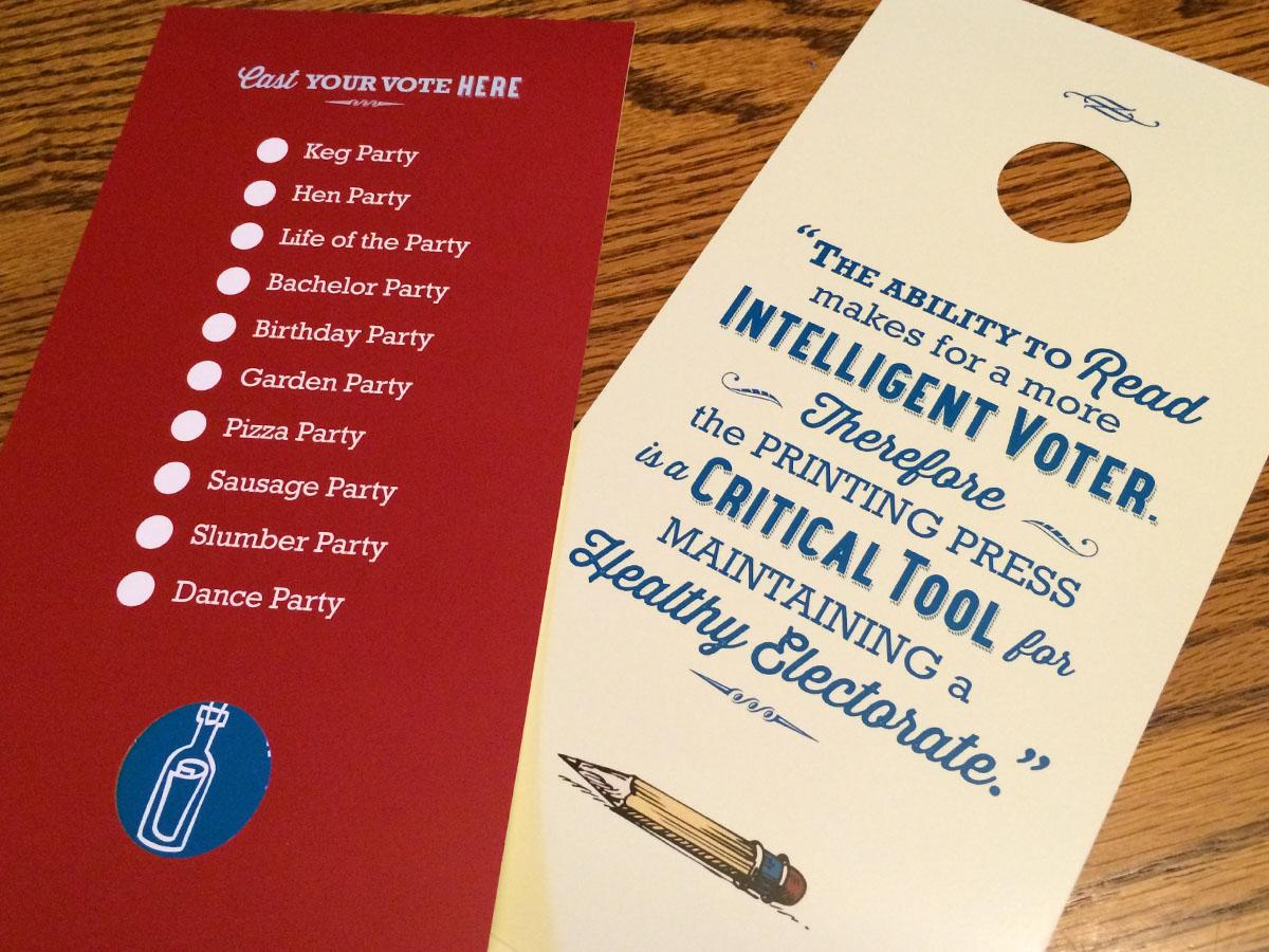 Corktown Mailer Election