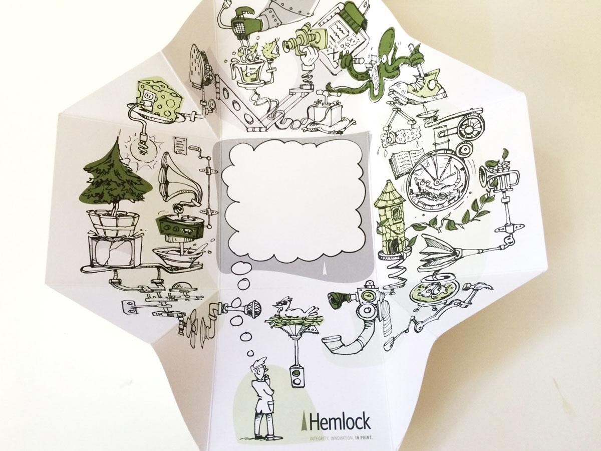 Cartoon Illustration for package design