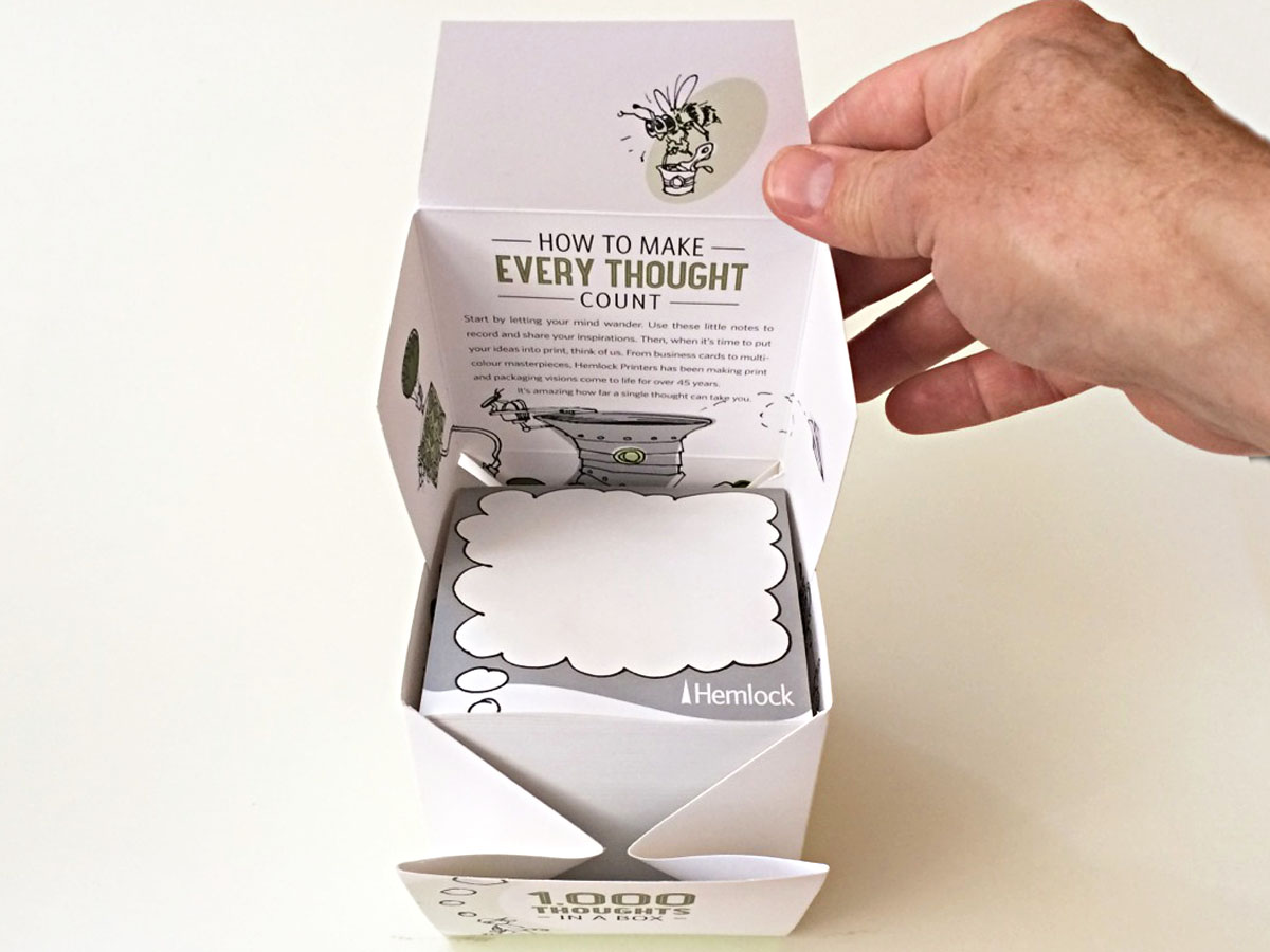 Print Promotional Box Package Design