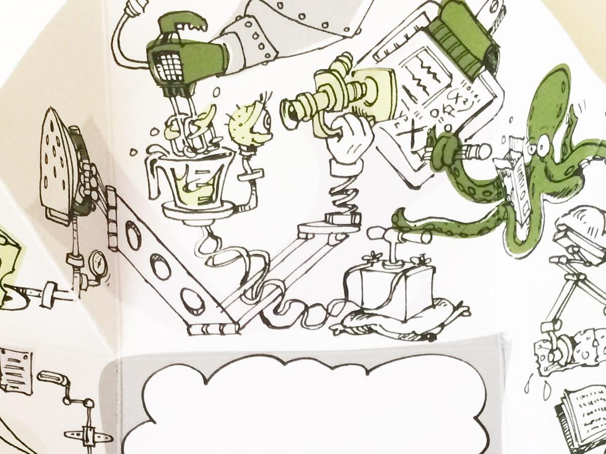Lorne Craig Cartoons Illustration Detail