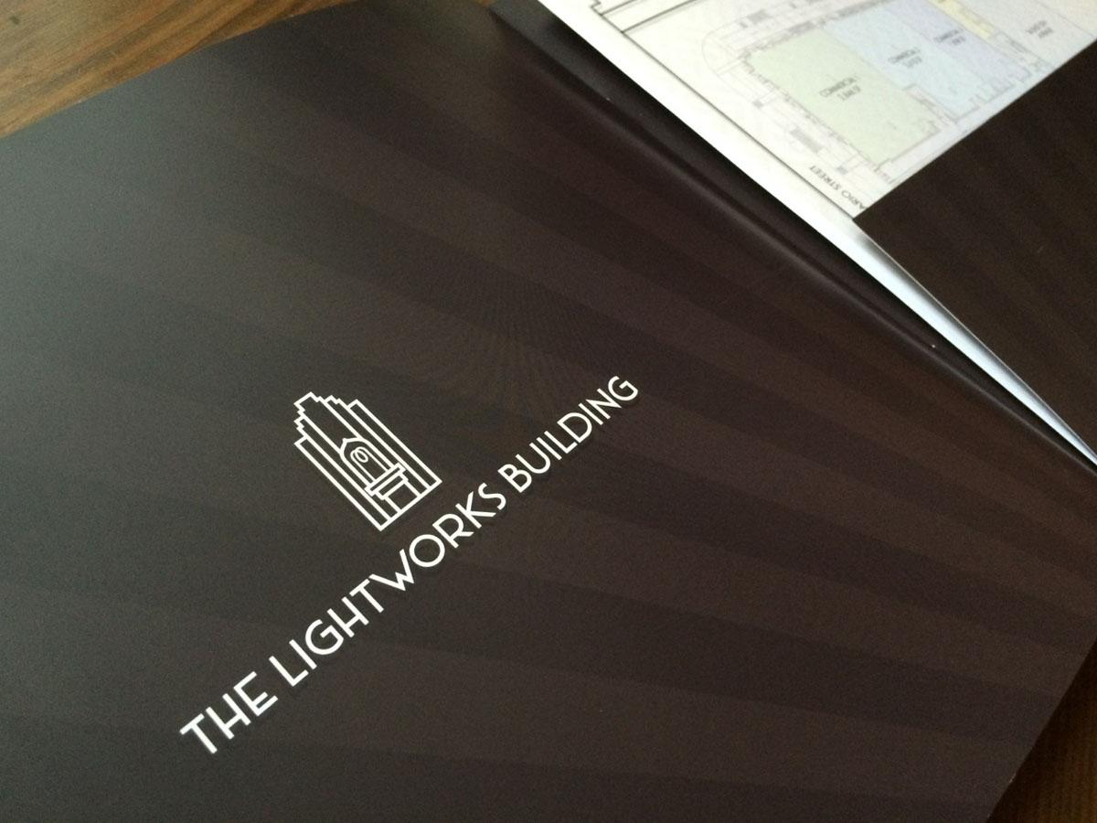 Lightworks Logo Design