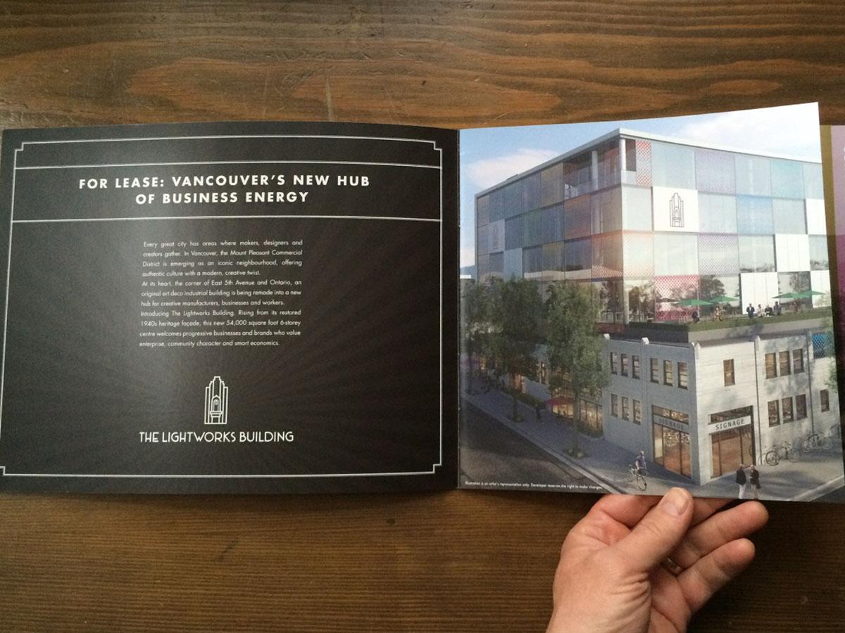 Real estate brochure design pages