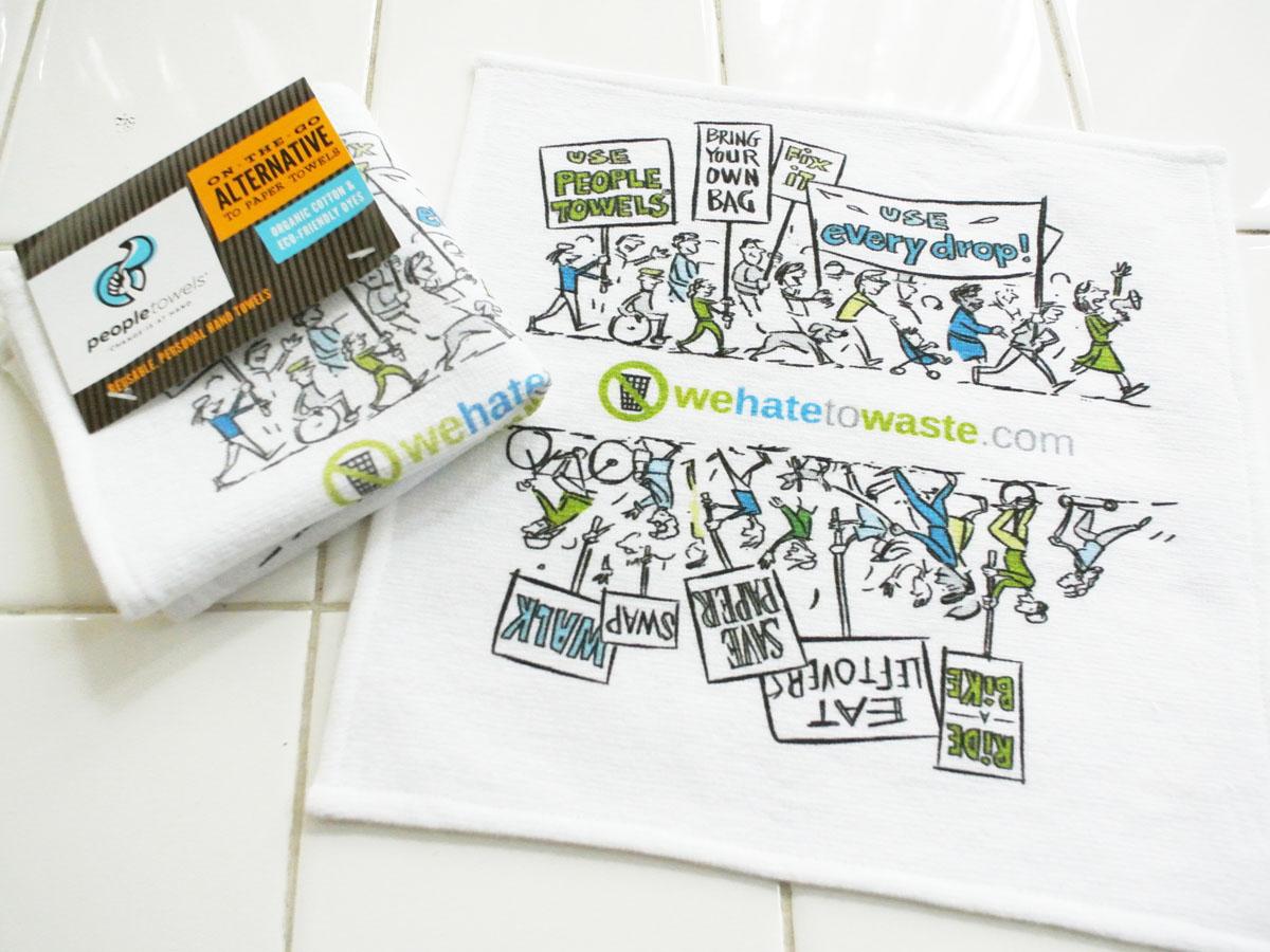 Zero Waste promotion cartoon
