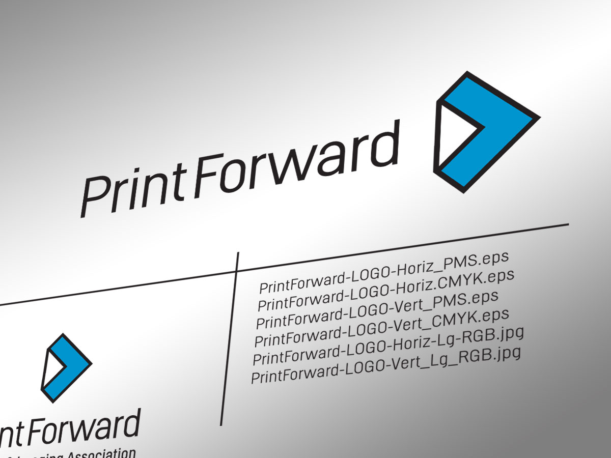 Print Forward Logo