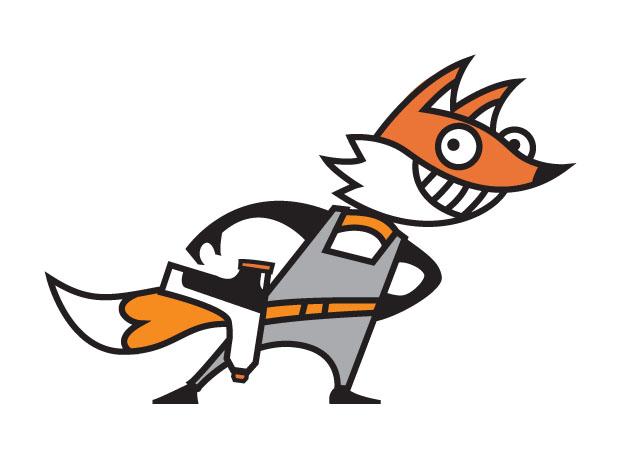 FixFox Character Design