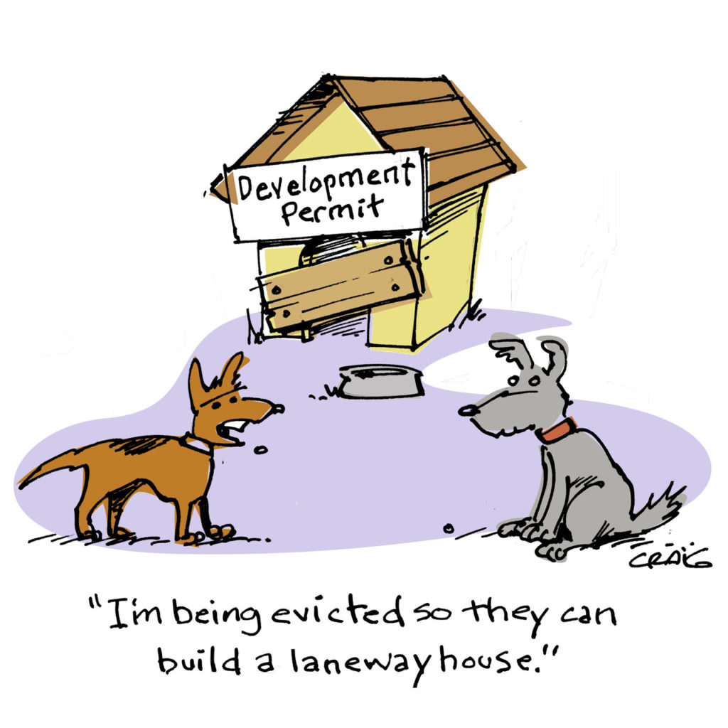 Laneway Dog House cartoon