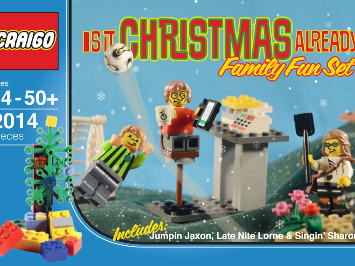Craig Family Lego Illustration