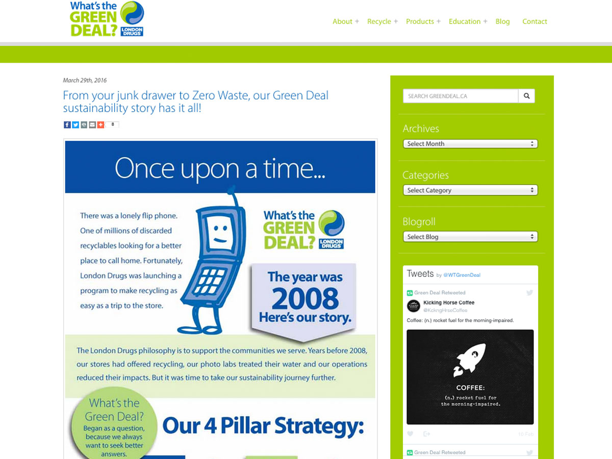 London Drugs Green Deal Story