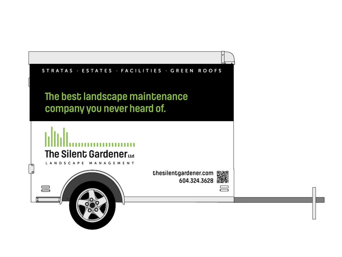 Silent Gardener Vehicle Graphics