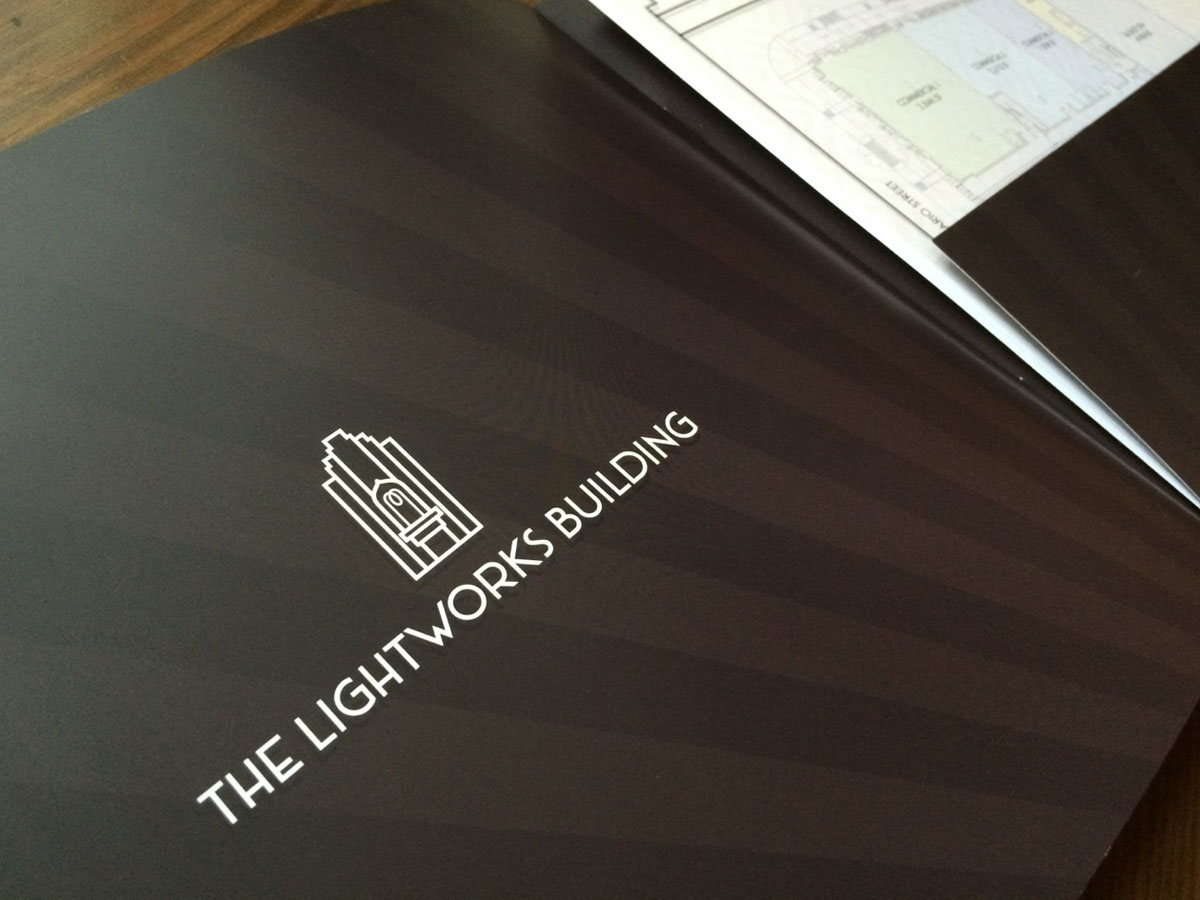 Lightworks Logo Design
